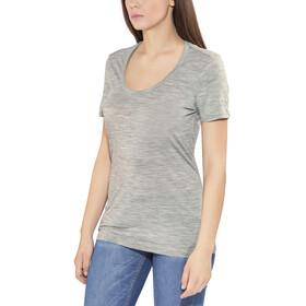 Icebreaker Spector t-shirt Dames grijs